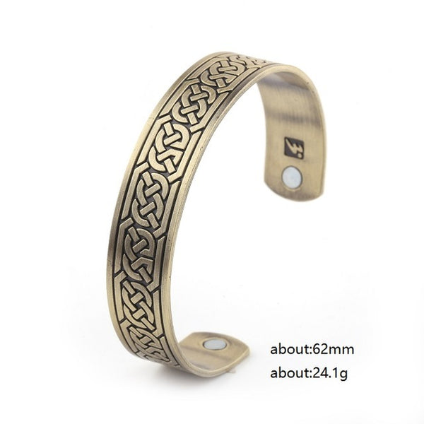 Celtic Knot Bangle copper