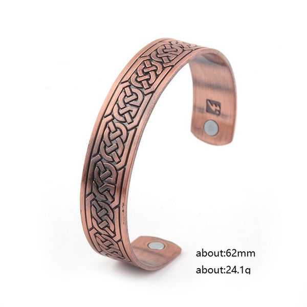 Celtic Knot Bangle bronze