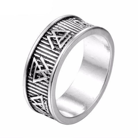 Valknut Wedding Band-Viking Caulking