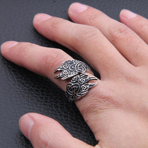 Bear Claw Ring-Viking Caulking-Viking Caulking