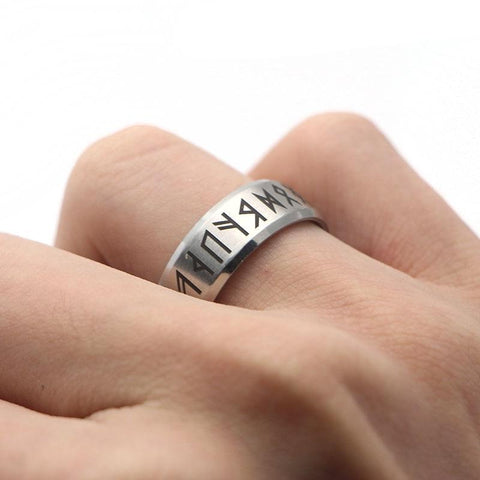 Viking rune ring/Nordic runes.