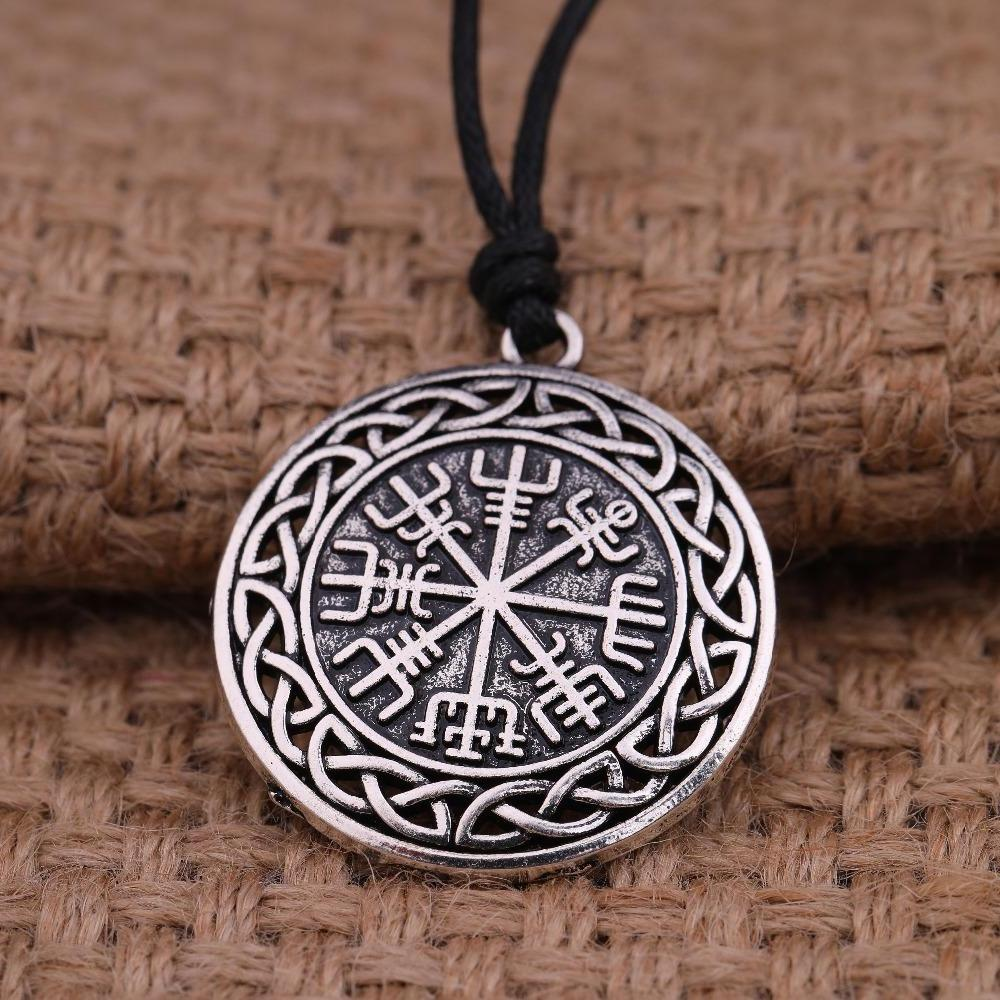 Celtic Knots Vegvisir Pendant-Viking Caulking-Viking Caulking