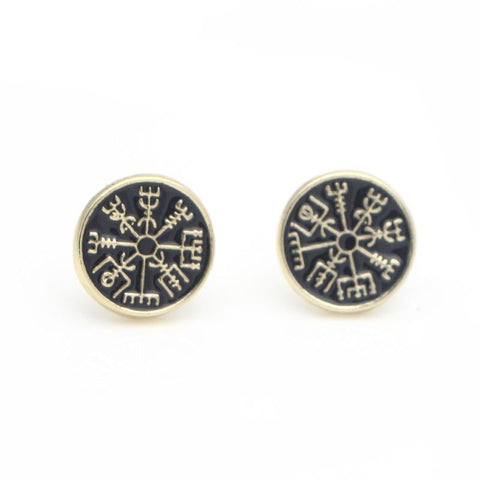Helm of Awe Earrings
