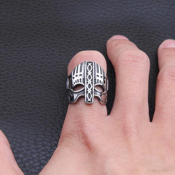 Viking Helmet Ring-Viking Caulking-Viking Caulking
