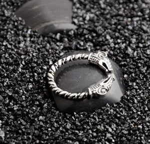 Viking Ring - Sterling Silver-Viking Caulking