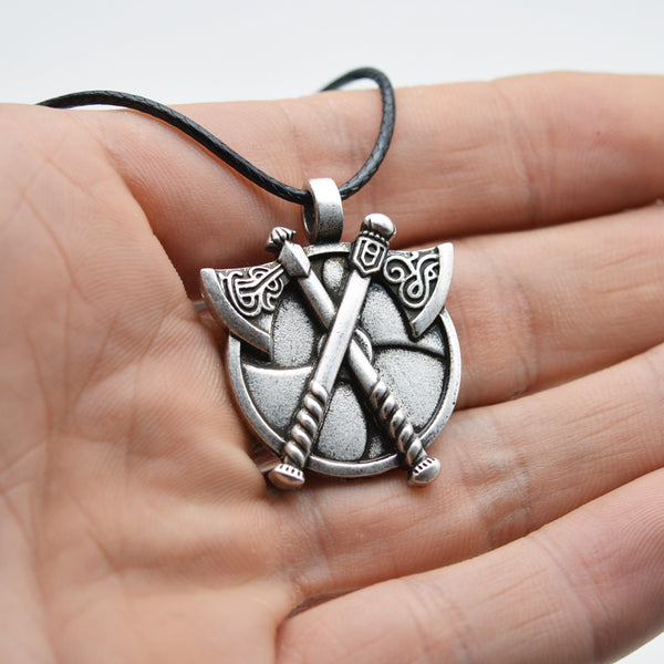 Battle Axe Pendant-Viking Caulking