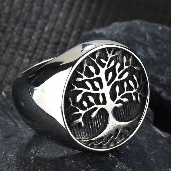 Tree of Life Ring-Viking Caulking-Viking Caulking