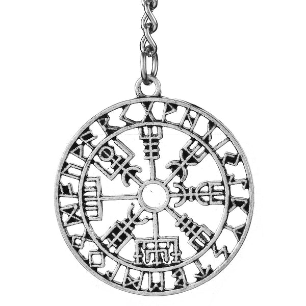 Vegvisir Keychain-Viking Caulking-Viking Caulking