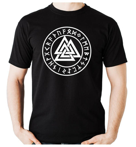 Valknut T shirts-Viking Caulking-Viking Caulking