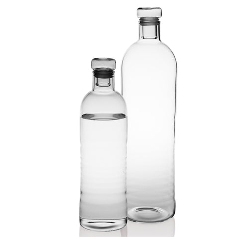 Minimal Glass Water Bottle