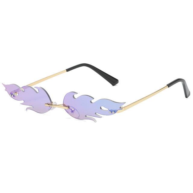 Fire Cat Eye Sunglasses