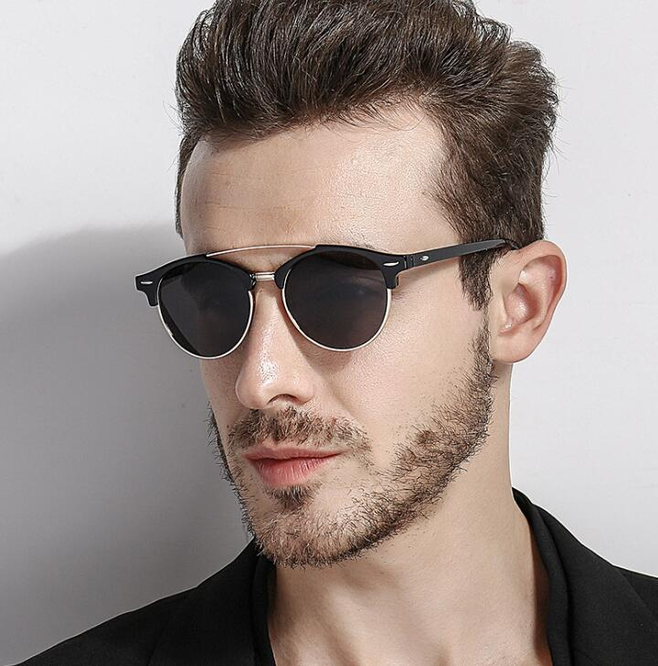 Men Polarized  Vintage Sun Glasses Luxury