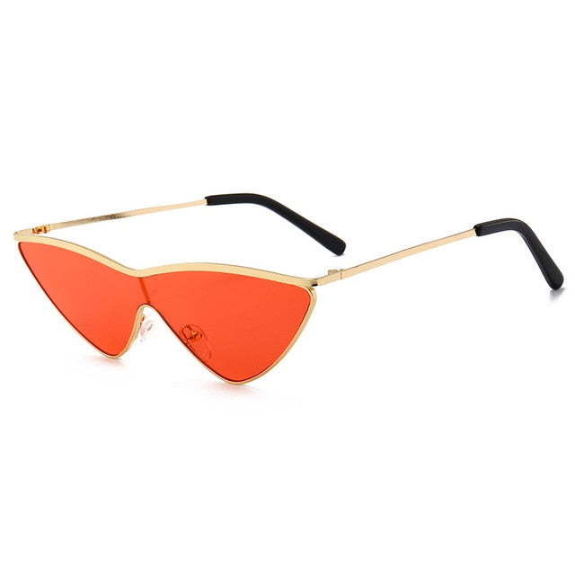 Sexy Metal Frame Cat Eye Sunglasses