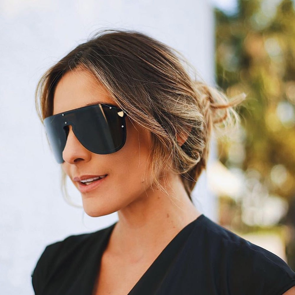 Trendy Oversized Women Sunglasses