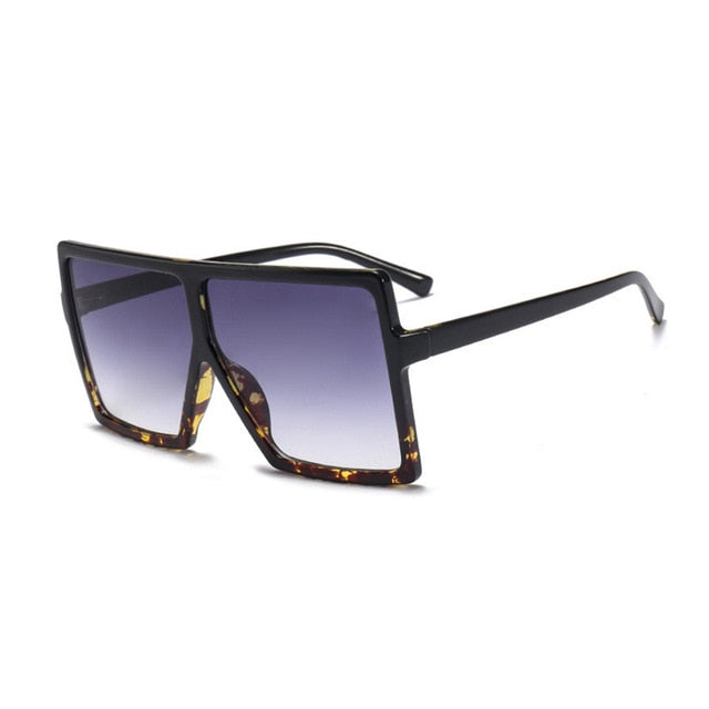 New Designer Oversized Sunglasses Women