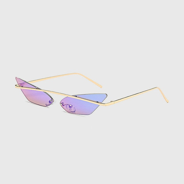 Designer Brand Cat Eye Sunglasses