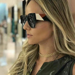 Trendy Retro Square Sunglasses