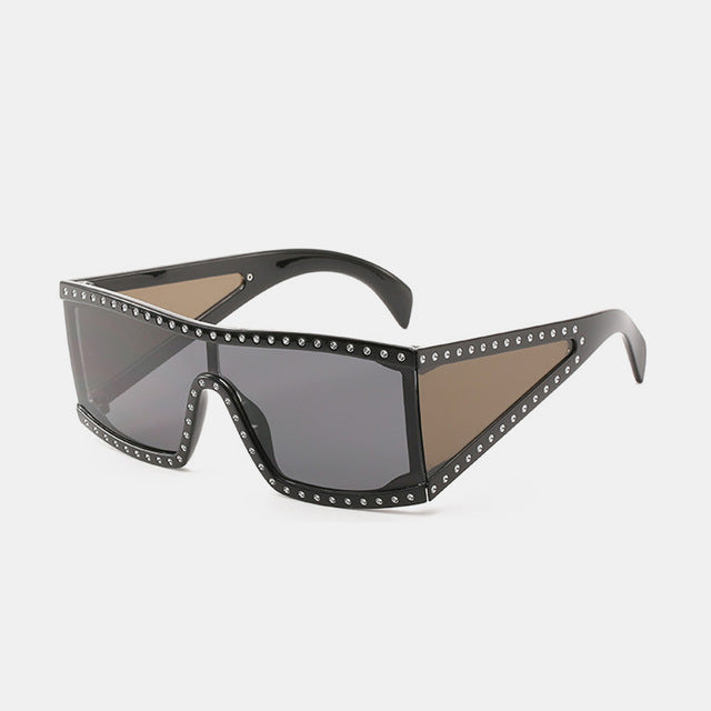 Vintage Luxury Square Sunglasses