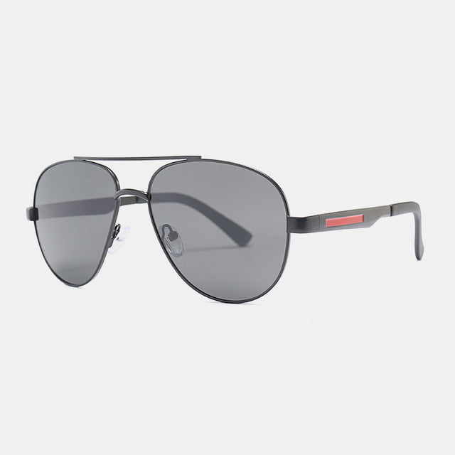 Men Classic Pilot Sunglasses HD Polarized