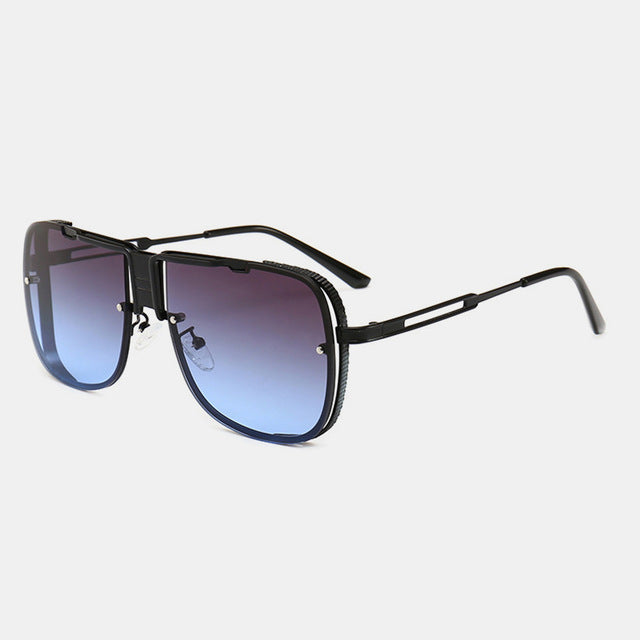Big Retro Frame Sunglasses