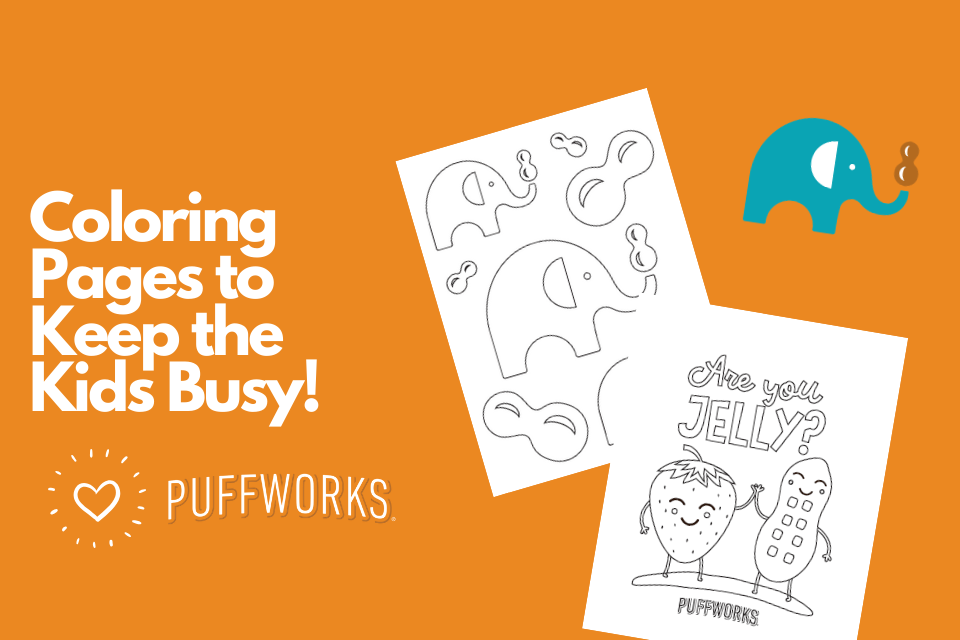 Puffworks Coloring Sheets