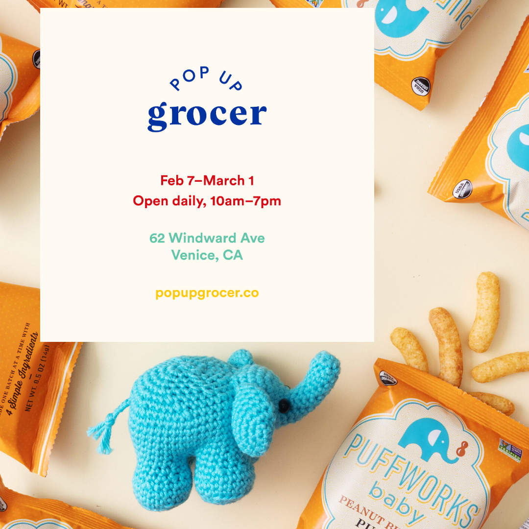 POP UP GROCER ANNOUNCES PUFFWORKS TO BE FEATURED AT LOS ANGELES LOCATION OPENING FEBRUARY 2020