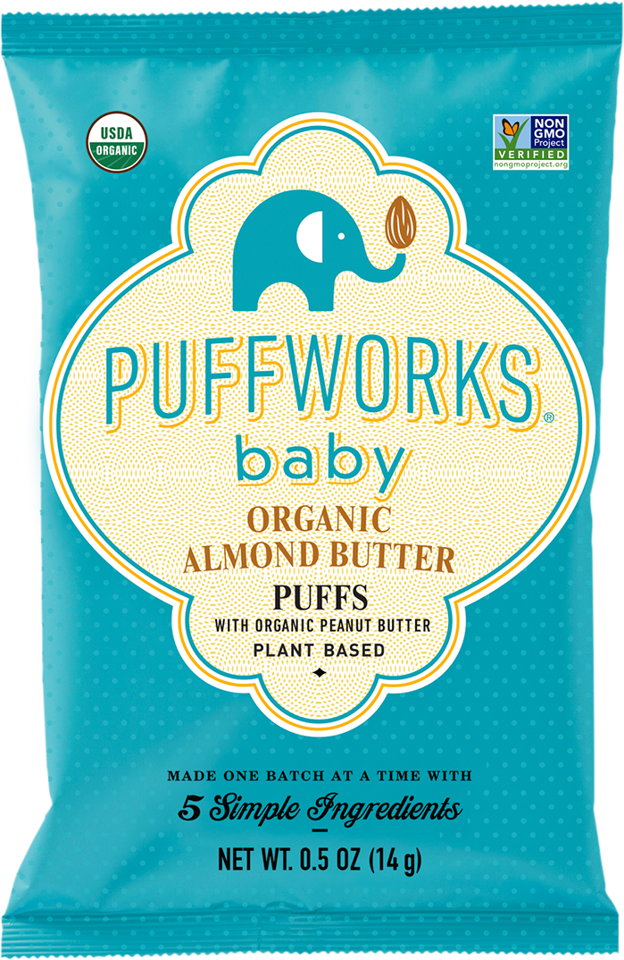 Almond Puffs Baby Snack