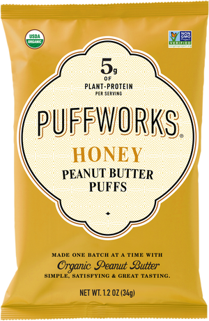 Organic Honey Peanut Butter Puffs