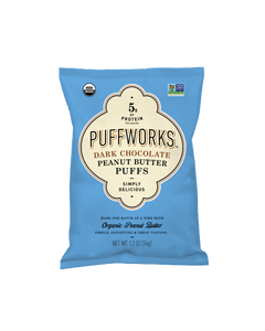 Organic Dark Chocolate Peanut Butter Puffs