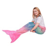 Mermaid Tail Blanket Rainbow Foil Pink Tail - SOFTAN STORE