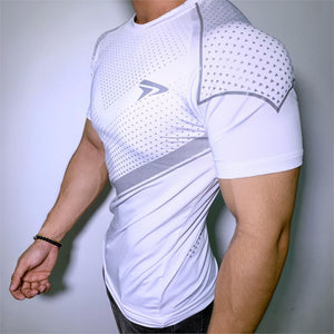 Mens Compression Skinny T-Shirt