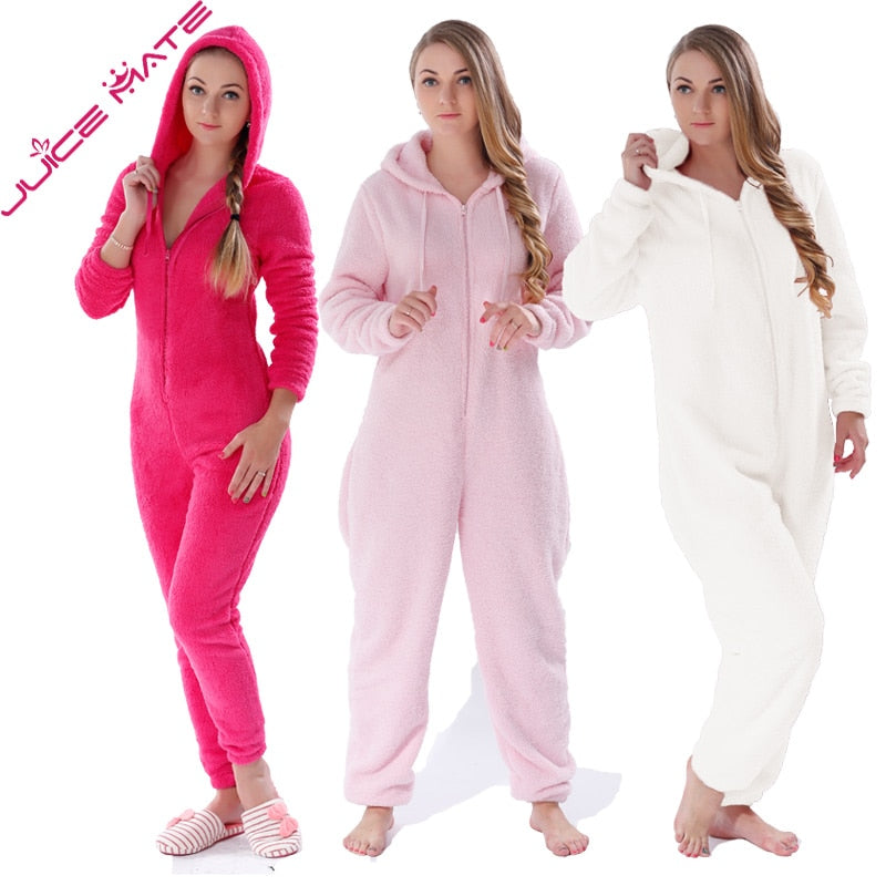 Fluffy Fleece Onesies