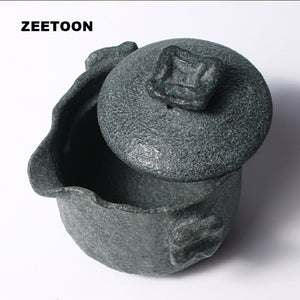Natural Bluestone Teapot