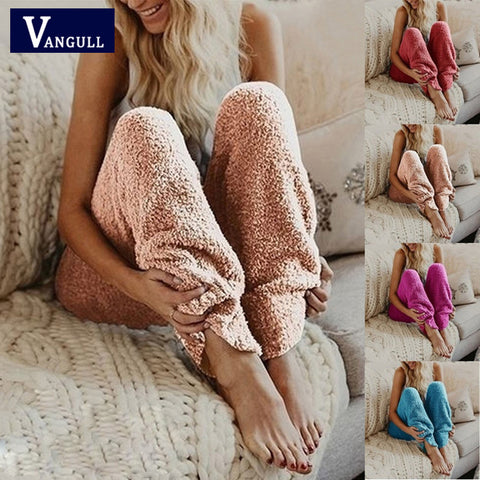 Comfy Fleece Pants in Five Colors