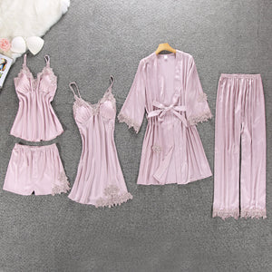 5 PC Lounging Sleepwear