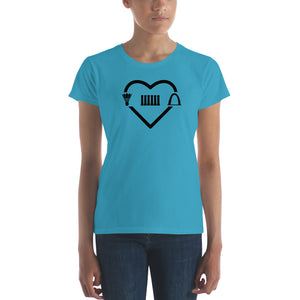 MO Love Monuments women's short sleeve t-shirt