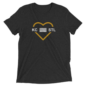 MO Love Black and Gold Women's T-shirt