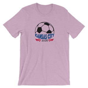 Kansas City Soccer 2026 Unisex T-Shirt