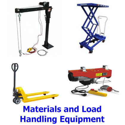 Materials and Load Handling Equipment. A range of top quality products designed to make loading, unloading and moving things around easier than ever before