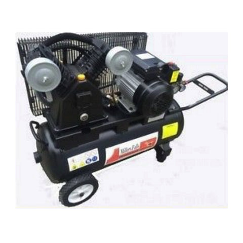 Millers Falls ACB3050B 3HP 50 Litre Belt Driven Electric Air Compressor 2 Cylinder Pump 1