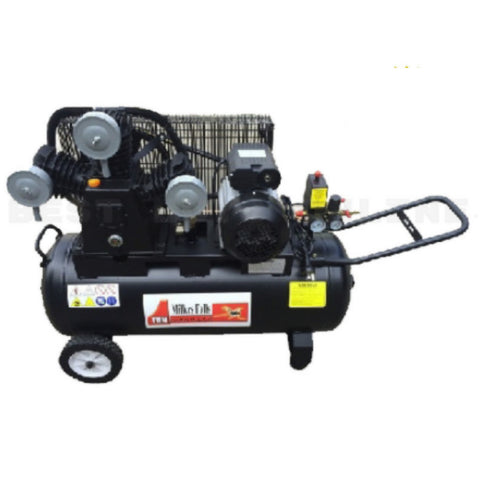 Millers Falls ACB3070B 3HP 70 Litre Belt Driven Electric Air Compressor 3 Cylinder Pump 1