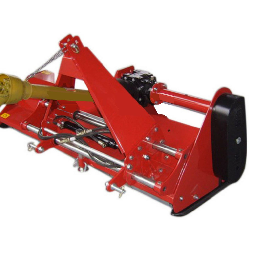 Flail Mower Mulcher Millers Falls 3 Point Linkage PTO Side Shift