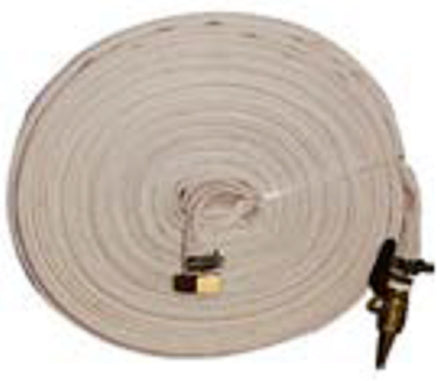 Millers Falls TWM 60m Fire Fighting Pump Bushfire Hose Canvas Brass Fittings #QWFK60MC 1