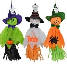 1 Pc 36x17cm Cute Ghost Hanging Hangtag Halloween Decoration Kids Funny Joking Toys Props Halloween Party Supplies