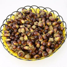 10PCS Fake Fruits Artificial Mini Acorn Oak Foam Nut Ornaments Home Room Party Xmas Decorative christmas decorations for home