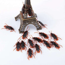 10*pcs Funny Fake Cockroach Gag Gifts Great for Halloween Party Prank Funny Trick Joke Special Model Fake Cockroach