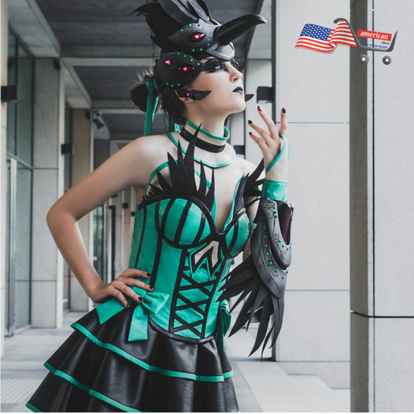 Widomaker Overwatch Womens Cosplay Costume | Odile Skin Cosplay Outfit
