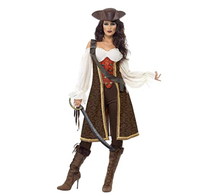 captain pirates caribbean Jack Sparrow Pirate fantasia Adult Cosplay Fancy Dress Carnival Halloween Cosplay Costume Women