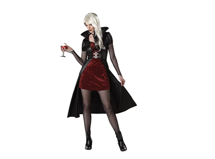 SESERIA Halloween Costume Sexy Vampire Costume Women Masquerade Party Cosplay Gothic Vampire Role Play Clothing Fancy Dress