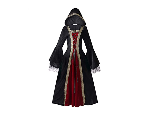 Halloween Costumes For Women | Adult Queen Of The Vampires Dress Fantasy Women Wholesale | Sexy Co splay Black Gothic Lolita Costume
